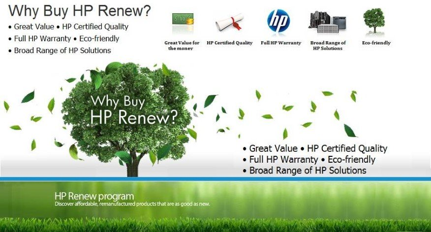 Why Buy HP Renew?