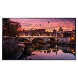 Samsung QB43R 43in Commercial 4k UHD Digital Signage Display LH43QBREBGC