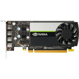 HP NVIDIA Quadro T1000 - Graphics card - Quadro T1000 - 4 GB GDDR6 - PCIe 3.0 x16 - 4 x Mini DisplayPort - for Workstation Z2 G5. Z2 G8. Z4 G4. Z6 G4. Z8 G4 - 20X22AA