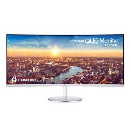 Samsung C34J791WTU 34in Wide QHD Curved Monitor LC34J791WTUX