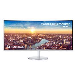 Samsung C34J791WTU 34in UltraWide Quad HD LED Curved Monitor Grey LC34J791WTUX