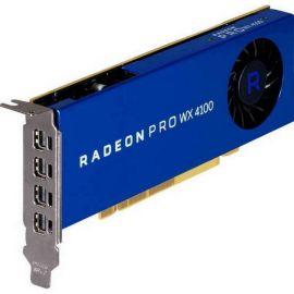 HP AMD Radeon Pro WX 4100 - Graphics card - Radeon Pro WX 4100 - 4 GB GDDR5 - PCIe 3.0 x16 low profile - 4 x Mini DisplayPort - for Workstation Z2 G4 (MT. SFF). Z240. Z4 G4. Z6 G4. Z8 G4 - Z0B15AA