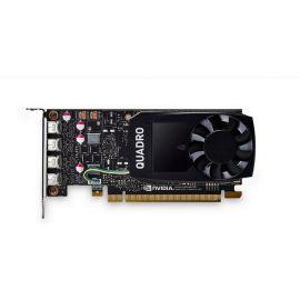 HP NVIDIA Quadro P1000 - Graphics card - 1 GPUs - Quadro P1000 - 4 GB GDDR5 - PCIe 3.0 x16 - 4 x Mini DisplayPort - for Workstation Z2 G4 (MT. SFF). Z240 (SFF. tower). Z4 G4. Z440. Z6 G4. Z8 G4 - 1ME01AA