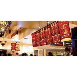 50in Commercial Restaurant/Hospitality Digital Signage Menu Board Display  DS50DMS