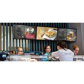 32in Commercial Restaurant/Hospitality Digital Signage Menu Board Display  DS32DMS
