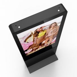 55in Freestanding Double Sided Commercial Digital Signage Poster Display LED Backlit LCD DS55LHDD