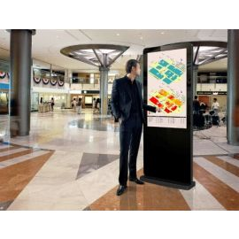 50in Freestanding Commercial Touch Screen Digital Signage Poster Display LED Backlit LCD DS50LE3T